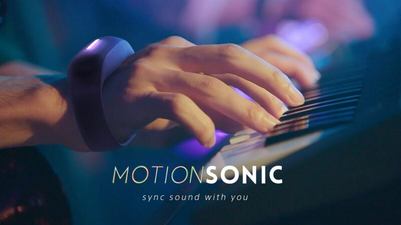 Sony launches motion-sensing music effects controller on Indiegogo